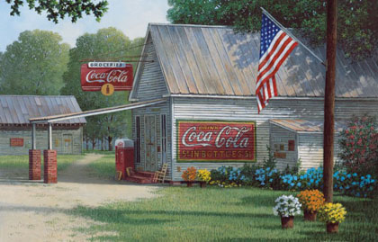 Coca Cola Flag | Thoroughbred Country