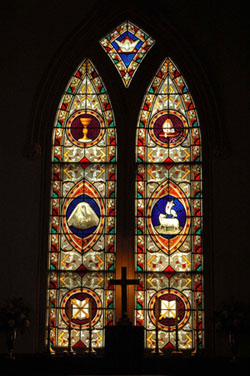 Apostles Church Window 2 | Thoroughbred Country