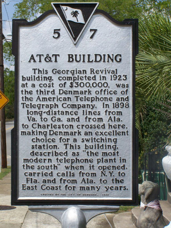 AT&T Marker  | Thoroughbred Country