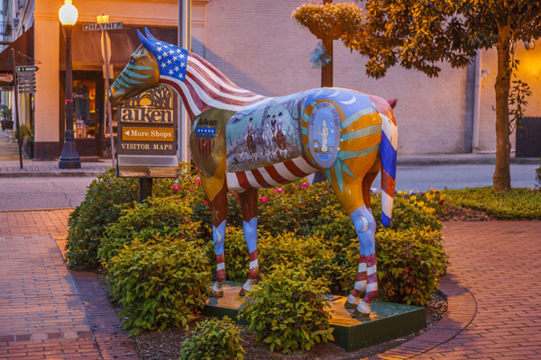 Downtown Aiken  | Thoroughbred Country