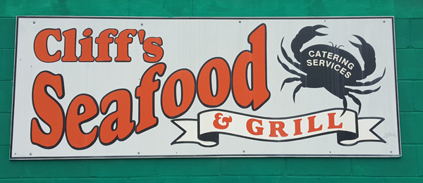 Cliff's Seafood  | Thoroughbred Country