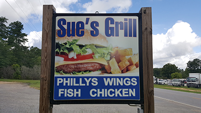 Sue's Grill | Thoroughbred Country