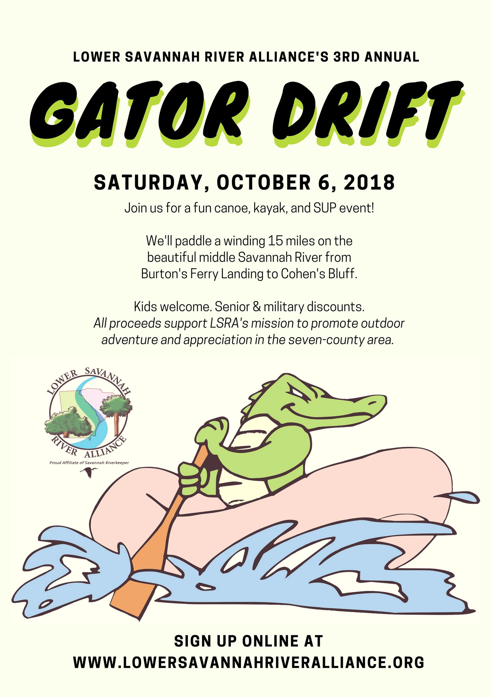 Gator Drift Paddle | Thoroughbred Country