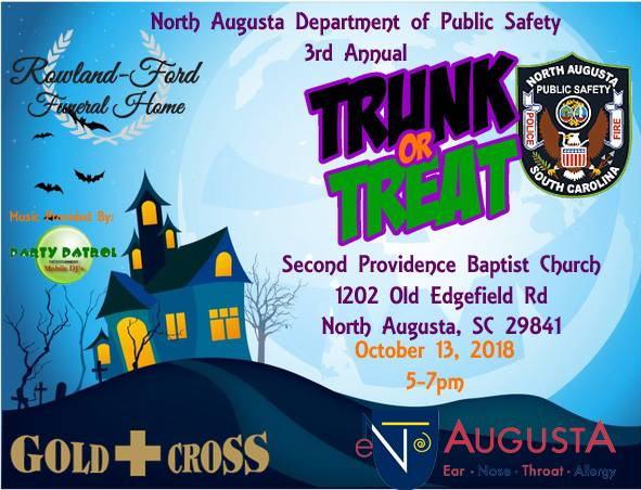 North Augusta Department Of Public Safety Trunk Or Treat | Thoroughbred Country
