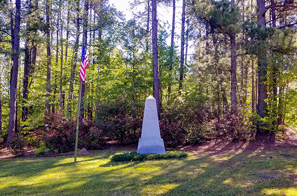 Battle of John's Town Memorial | Thoroughbred Country