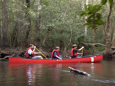 Canoe at Aiken State Park-Kids   Thoroughbred Country