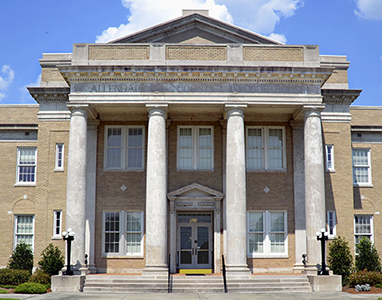 Allendale County Courthouse | Thoroughbred Country