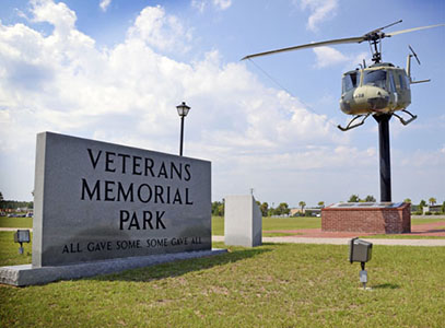 Veterans Memorial Park | Thoroughbred Country
