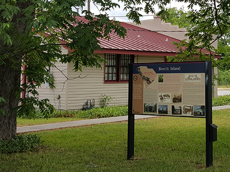 Beech Island Historical Society Visitors Center | Thoroughbred Country