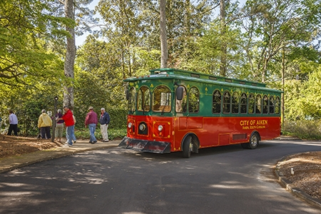 Trolley Tour, Aiken | Thoroughbred Country