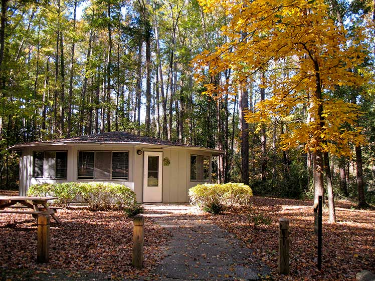 Barnwell State Park cabin | Thoroughbred Country